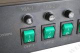 """12方法19 """" 2u IEC60320 C13及びC19それぞれ溶かされたPDU"""
