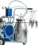 암소 가족 사용을%s 새로운 전기 젖을 짜는 기계