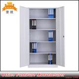 Mobiliário de escritório de 2 portas armário de aço armário de arquivos de Metal