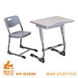 Mesa e cadeira originais para a escola da universidade (aluminuim ajustável)