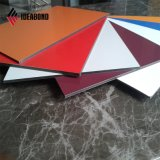 Colore rosso della Serbia, pannello di rivestimento di alluminio esterno d'argento della parete di PVDF (AF-370)