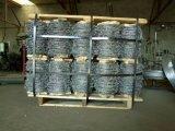 Venta caliente 2mm *2mm de Acero Galvanizado Alambre de púas para la granja