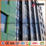 Espectros PE PVDF revestido Hoja de panel compuesto de aluminio