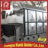 Chaudière à vapeur horizontale à combustion de chambre à haute efficacité avec charbon