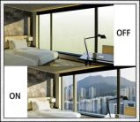 Película de cristal cambiable inteligente/película elegante para el edificio/la oficina