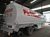 半42000L炭素鋼の石油タンカーのトラックのトレーラーBPWの車軸燃料タンクのトレーラー