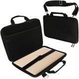 Design de ombro de cor preta EVA Protecção Saco para computador portátil (FRT2-338)