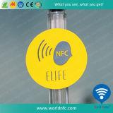 Étiquette interurbaine de l'IDENTIFICATION RF NFC d'à haute fréquence pour l'étiquette du fabriquant de tissu