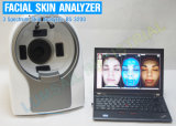 Dispositif fondamental de salon de beauté de scanner de teint d'analyseur de peau du visage