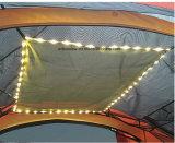 Lo strato doppio di campeggio esterno personalizzato velocemente aperto schiocca in su la tenda