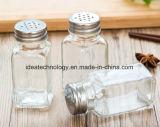 De berijpte/Bespoten Kruik van het Kruid van het Glas van het Type voor het Gebruik van de Keuken