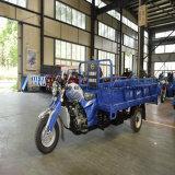 Motor refrescado aire de Trike 200cc de la granja del triciclo del cargo de la gasolina del combustible