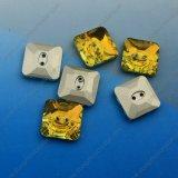 Variedade de botões de cristal costurando botões de vestuário para acessórios de roupas