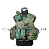 Veste tactique Airsoft Veste de combat avec pistolet militaire de l'étui (HY-V062)