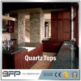 Pedra de quartzo para a bancada da cozinha em residencial, no hotel e em projetos comerciais