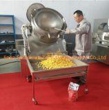 新しい状態のフルオートマチックのポップコーンの生産機械