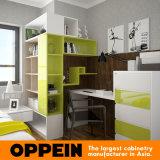 Самомоднейшая свежая зеленая высокая мебель комплекта спальни дома лака лоска