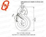 G80 de Haak van het Oog met de Klink van de Veiligheid van de Trekhaak voor de Slinger van het Hijstoestel
