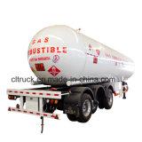 De 3 essieux de LPG remorque lourde de camion semi pour le propane