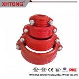 Ductiele ijzeren pijpfitting gemaakt in China voor brandbestrijding Systeem