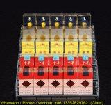 Einfache 5 Reihen löschen Acrylzigaretten-Regal
