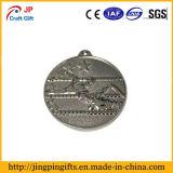 Custom 2D/3D pour la natation de la médaille de métal