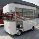 セリウムの公認の新しい到着の小型気流のトレーラーの通りの移動式食糧カートの中国の工場販売のための移動式食糧トラック