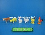 Дешевые игрушки хорошего качества мягкой пластиковой динозавров (1033703)