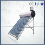 tubo de vacío de vidrio económico calentador de agua solar de baja presión