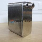 Alto cambiador de calor cubierto con bronce eficacia de la placa del traspaso térmico