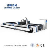 Le CNC lit plat de la machine de coupe au laser pour tuyau/tube LM3015AM3