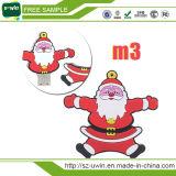Memoria Flash del USB del Babbo Natale 16GB per il regalo di natale