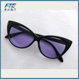 La mode des lunettes de soleil Cat Eye Lunettes de soleil polarisées Concepteur de balle surdimensionnée