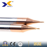 Flöten des China-Fabrik-Mikrohartmetall-zwei, die Enden-Tausendstel kerben