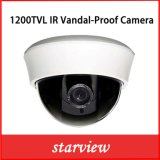 1200tvl Camera van de Veiligheid van de Koepel van kabeltelevisie van IRL de Plastic