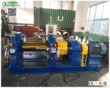 Los rodillos de cojinete de la caja de velocidades Guomao Xk-400 dos rollos de molino de goma para la mezcla de goma