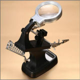 Escritorio de múltiples funciones de lámparas de lectura de la lupa con 2 luces LED / Lámparas (EGS-7026A)