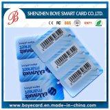 Kundenspezifische PVC-Barcode-Karten-Barcode-Mitgliedskarte/Qr Code-Karte