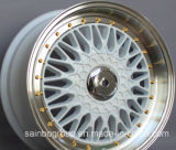 Aluguer de jantes de alumínio 15 16 17 18 polegada para roda BBS