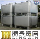 ステンレス鋼の携帯用記憶IBCタンク容器