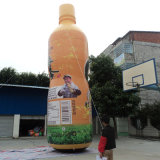 Customized Inflatable Bottle Model for Promotion Production