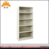 Governo d'acciaio aperto del libro delle biblioteche Jas-066 con 4 mensole