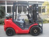 LPG Forklift van de V.N. Capacity 3000kg 3.0t met Original Japanse Imported Nissan K25 Engine