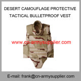 Куртка оптового дешевого камуфлирования пустыни армии Китая защитная тактическая противопульная