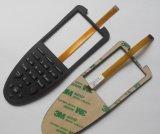 Interruttore di membrana di gomma della tastiera di alta qualità di Backlighting su ordinazione di Lgf