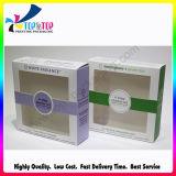 Empaquetado cosmético natural plegable del rectángulo de papel de la venta al por mayor cómoda de Eco