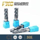 Fxc для настольных ПК HRC45 4 ребра квадратный конец из карбида вольфрама мельницей