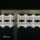 織物の衣裳および婚礼衣裳のレースリボンによってカスタマイズされるHml126のためのトリミングのレース