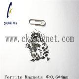 Ck에 의하여 소결되는 알파철 자석 Φ 0.6*4mm