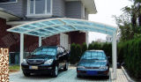 Новые гаражи летая автопарков типа с крышей поликарбоната